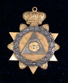 Knight's Templar jewel, 19th century