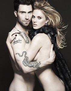 Adam Levine & Anne Vyalitsyna for Vogue Russia Nov. 2011