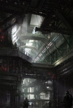 cyberpsychic: (a través de la ciencia ficción Interior por xchosun1x - James Paick - CGHUB)