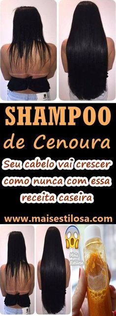 Aprenda a fazer o shampoo de cenoura caseiro e comece a experimentar todos os benefícios que essa raiz que pode sim ser utilizada para tratamentos capilares, se destacando pelo seu poder de ajudar no crescimento dos fios.
