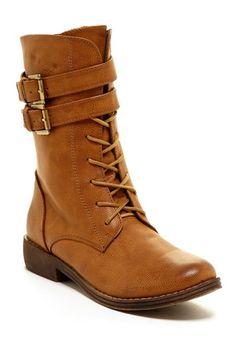Yency Lace-Up Boot by Elegant 35.00 on @HauteLook
