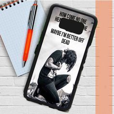 Oliver Sykes Bring Me The Horizon Quote Samsung Galaxy S8 Case Dewantary