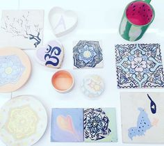 The beautiful goods from our session with and They'll soon be ready for you ladies Team Events, Pinch Pots, Pottery Painting, Just Giving, Corporate Events, Colours, Ceramics, Creative, Inspiration