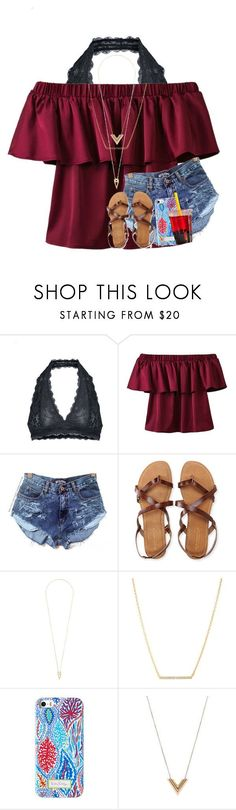 """""""&&; i always fall for your deceptive love"""" by abbypj ❤ liked on Polyvore featuring Free People, Aéropostale, Noor Fares, Kate Spade and Louis Vuitton"""