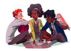 I saw a thing where Hermoine is black and Harry'd be Indian and hell yeah, more diversity. Why not?
