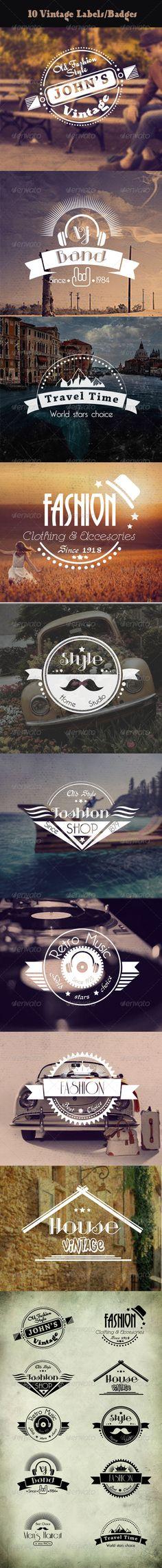 Vintage Labels and Badges  http://graphicriver.net/item/vintage-labels-and-badges/7470846?WT.ac=portfolio&WT.seg_1=portfolio&WT.z_author=danaco