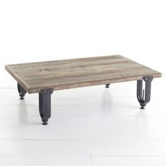 W6882Industrial Clamp Table - This is probably my favorite Industrial Modern coffee table at the moment. Unfortunately out of my current price range, but I'll be watching it... $999