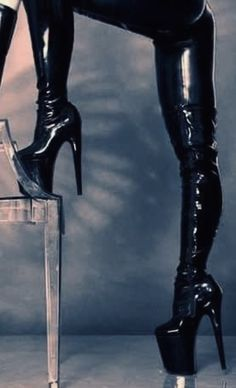 Thigh High Boots Heels, Sexy High Heels, Heeled Boots, Ankle Boots, Shiny Boots, Platform Shoes Heels, Shiny Leggings, Over The Knee Boots, Leather Boots