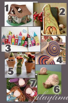 Basic waldorf toy ideas: tons of images and links