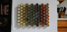 Spice Organization! YOUR CHOICE of 10 Organic Spices. Magnetic Spice Rack with Hand-Stamped Lids. Unique Gift Idea.