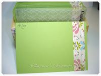 Cuttlebug storage - another great way to be organised from Passionately Artistic