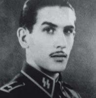 BELLUMARTIS HISTORIA MILITAR: ESPAÑOLES EN LOS ÚLTIMOS DÍAS DEL TERCER REICH. I PARTE  Miguel Ezquerra con uniforme de las Waffen SS