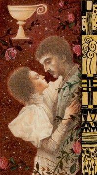 Ace of Cups - Klimt Tarot