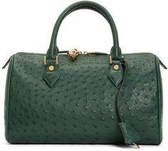 Ostrich Barrel Bag on shopstyle.com
