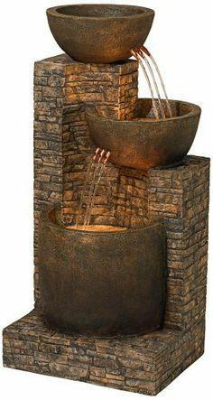 Mason Faux Stone Floor Fountain by Universal Lighting and Decor, http://www.amazon.com/dp/B008OGQ2MC/ref=cm_sw_r_pi_dp_qJQvrb0082QRP