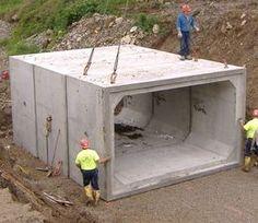 Concrete Cube Cabin