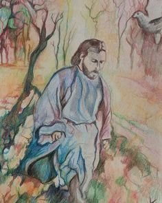 #adamamos #propheticartist #colorpencil #sketchbook Colored Pencils, Artist, Painting, Colouring Pencils, Crayons, Painting Art, Paintings, Paint Colors, Amen