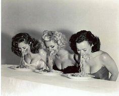 Spaghetti Eating Contest