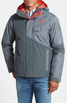 The North Face 'Conway' TriClimate Apex ClimateBlock Waterproof & Windproof 3-in-1 Jacket available at #Nordstrom