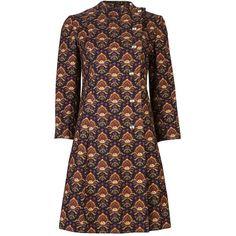 CHRISTIAN DIOR VINTAGE Diorling line printed jacket ($950) ❤ liked on Polyvore
