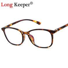 e2d69e89edc07 Long Keeper Spectacles Eyeglasses Men Square Glasses Frame Optical Eye  Glasses Frame armacao para Oculos De