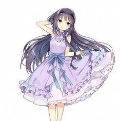 What do you think of my dress? Kawaii desu?