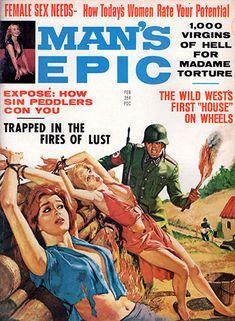 Pulp Magazine, Magazine Art, Magazine Covers, Pulp Fiction Art, Pulp Art, Vintage Comics, Vintage Posters, Comic Book Covers, Comic Books