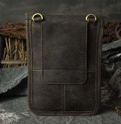 Men's Genuine Leather Fanny Belt Hip Waist Pack Phone Purse Cowhide Shoulder Bag | eBay