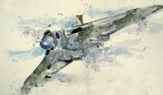 Vulcan bomber Falklands War, Aeroplanes, Aviation Art, Jet, The Past, Sci Fi, Aircraft, Artist, Science Fiction