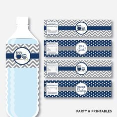 Navy Owl Water Bo... http://partyandprintables.com/products/navy-owl-water-bottle-labels-non-personalized-instant-download-sbs-49?utm_campaign=social_autopilot&utm_source=pin&utm_medium=pin #partyprintables #birthdayinvitation #partysupplies #partydecor #kidsbirthday #babyshower