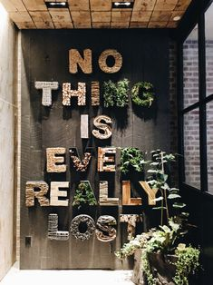 nothing is ever really lost 1 hotel nyc - Life ideas Flur Design, Wall Design, Restaurant Interior Design, Office Interior Design, Mein Café, Deco Restaurant, Nyc Hotels, Coffee Shop Design, Tips And Tricks