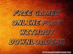 Visit this site http://gametimeprime.com/ for more information on free games online play without downloading. People all around the world play games online or have interest in playing different games while sitting online in front of the computer screens. Free games online play without downloading is a very interesting and entertaining time pass and helps kill the boredom when there is nothing to do. Follow us http://ello.co/freegamesonlineplay