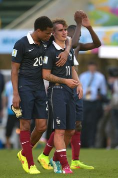 Antoine Griezmann - France v Germany: Quarter Final - 2014 FIFA World Cup Brazil