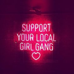 Support your local girl gang <3 // gesehen bei @Vreni Frost