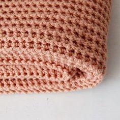 Haak & Maak: Roze dekentje - deken haken