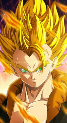 Fusion Goku and Vegeta by mr. Shoryuken