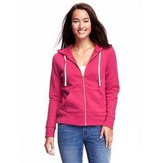 Old Navy Womens Relaxed Full Zip Fleece Hoodie ($30) ❤ liked on Polyvore featuring tops, hoodies, party started pink, long sleeve hoodie, pink hoodie, pink hoodies, pink top and long sleeve tops