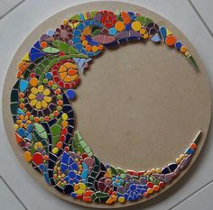 mosaic moon