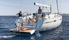 Greece, Athens, Marine Alimos. A spacious yacht which could accommodate group of friends or families in its beautifully designed interior. This Bavaria 45 has four double cabins. Facilities. Galley: Gas burner stove, Electric fridge or frigo, Crockery and Cutlery, Cooking utensils. Bedding: Linen, Blankets, Bath towels, Pillows. Look at: AFLOATBNB.COM