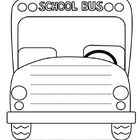 Free Printable School Bus Coloring Pages For Kids | Crafts ...