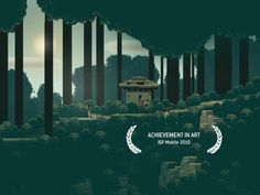 Pixel art adventure game of tranquility.