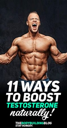 now a days Strong and big muscle a dream of all bodybuilder. Yes it is possible when you have good Testosterone power. That why we are sharing Best ways to boost Testosterone naturally. Increase Testosterone Naturally, Increase Testosterone Levels, Natural Testosterone, Testosterone Booster, Muscle Fitness, Gain Muscle, Mens Fitness, Build Muscle, Muscle Men