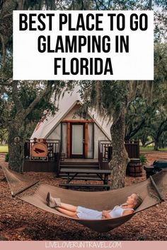 This glamping location is the perfect Central Florida vacation. Florida Hotels, Florida Camping, Florida Vacation, Florida Travel, Vacation Places, Vacation Trips, Vacation Spots, Travel Usa, Canada Travel