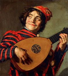 Le Bouffon au luth/Fool with a lute, by Frans Hals the Elder. Courtesy of the Louvre.