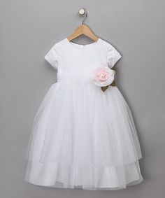 by allie wade, pretty baptism dress