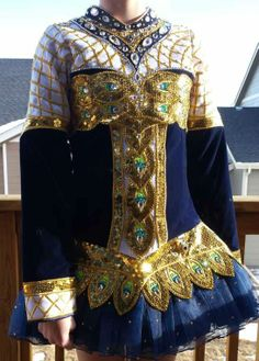 Irish Dance Solo Dress Costume by Avoca Celtic Designs