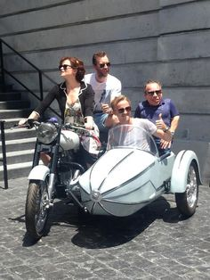 Bellatrix, Neville, Draco and Flitwick...just hanging out.