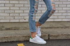 A.Co est. 1984: Boyfriend Jeans & Stan Smith Sneakers