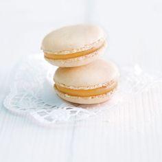 Orangen-Macarons