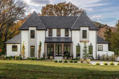 Best Home Improvement Trends - Magnificent build by Millworks Home. Love the clean lines and symmetry of the exterior, along with the with the luxurious interior! Located in Nashville, TN. Interior Exterior, Exterior Design, Facade Design, Design Living Room, Design Bedroom, Dream House Exterior, House Exteriors, House Facades, Up House